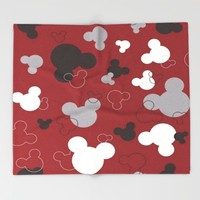 MICKEY MOUSE Throw Blanket by Acus