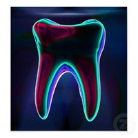 Dental art posters from Zazzle.com