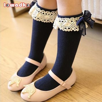 Princess Style Girls Lace Design Socks - Available in different colors (1 - 5 Years)