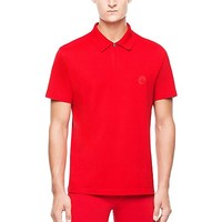 Versace - Button Collar Medusa Polo