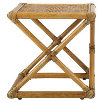 Vivienne Rattan Bunching Table, Nutmeg, Standard Side Tables
