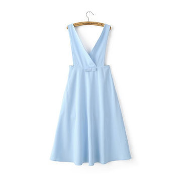 Women's Fashion Chiffon King Size One Piece Dress [4919635780]