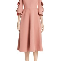 Roksanda Sibella Bow Trim Dress | Nordstrom