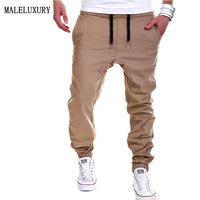 Mens Joggers Male Trousers  Men Pants Mallas Hombre Running Elastic Cross Pants Jogging Sweatpants Jogger khaki Pantalones XXXL