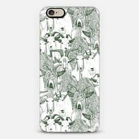 just goats dark green iPhone 6 case by Sharon Turner | Casetify