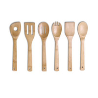 Wooden Kitchen Utensil Tool Set (6-pc)