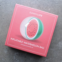sunnylife - inflatable watermelon ball