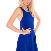 Megan Dress - Royal Blue