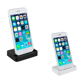 Dock Charger Sync Data Docking Station Charging Desktop Cradle Stand for iphone 5 5s 5c 6 6s 7 plus