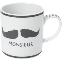 John Lewis Monsieur Mug, Boxed online at JohnLewis.com - John Lewis