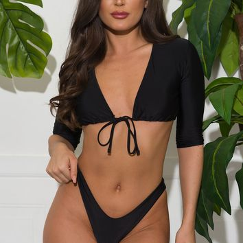 Punta Cana Two Piece Swimsuit - Black