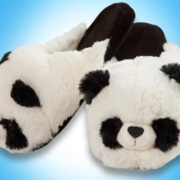 My Pillow Pets Panda Slippers Large