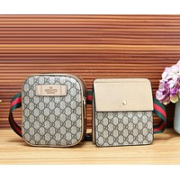 GUCCI New fashion more letter print shoulder bag two piece suit bag