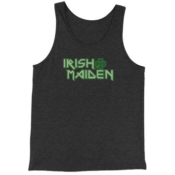 Irish Maiden ShamRocker Jersey Tank Top for Men