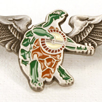 Grateful Dead Terrapin Wings Pin Small