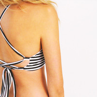 Criss-Cross Halter / Choose Your Print