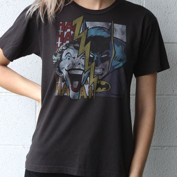 """Joker vs. Batman"" Vintage Tee"