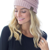 All Day, Every Day- Rose C.C. Beanie