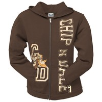 Chip 'N Dale - Happy Dance Juniors Zip Hoodie - Small