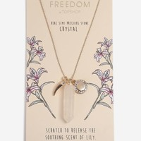 Aromatherapy Crystal Pendant Necklace - Jewelry - Bags & Accessories
