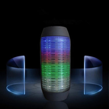 Bluetooth Speaker jbl pulse wireless mini bluetooth speaker LED flow light colorful speaker 1 pcs free shipping High quality