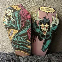 Morbius the Living Vampire Comic Coffin Box
