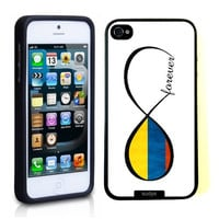 SudysAccessories Colombian Forever Colombia Flag Infinity Forever ThinShell Case Protective iPhone 5 Case iPhone 5S Case