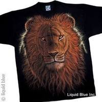 Night Lion Exotic Wildlife T-Shirt