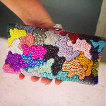 GLAMO Clutch -- ONE of a Kind