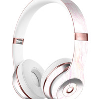 Mixtured Textured Marble v11 Full-Body Skin Kit for the Beats by Dre Solo 3 Wireless Headphones