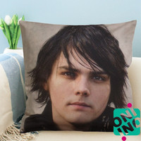 Gerard  Way My Chemical Romance Zippered Pillow Case, Cushion Case, Pillow case