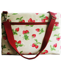 "13"" Macbook or Laptop bag with zipper pocket and detachable shoulder strap -Ready to ship"