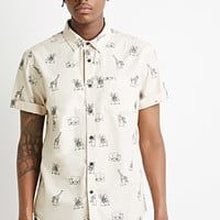 Safari Animal Print Shirt