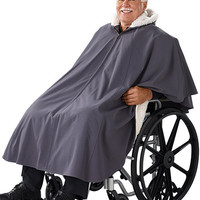Unisex Wheelchair Lined Cape 27000 - Silverts Weather Protection | TopMobility.com