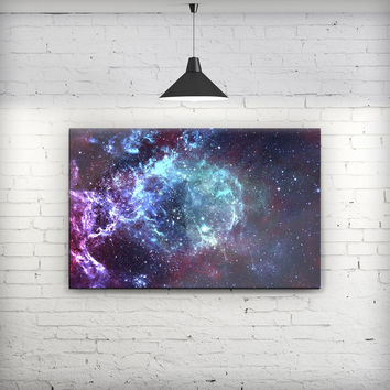 Trippy Space - Fine-Art Wall Canvas Prints