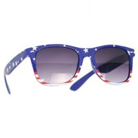 """USA"" American Flag Sunglasses"