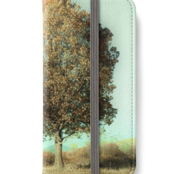 'Autumn Trees' iPhone Wallet by by-jwp