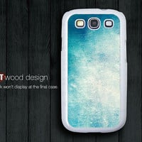 Samsung Galaxy S3 phone Case blue wall texture cases Samsung Galaxy S3 i9300 Case Samsung cases Galaxy SIII unique Case