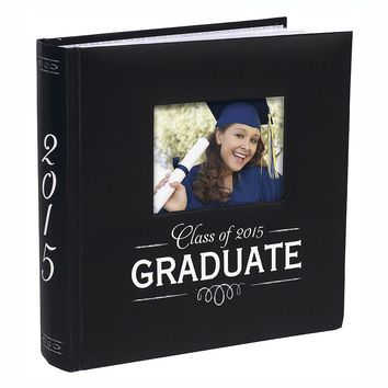 Malden ''Class of 2015 Graduate'' Photo Album (Black)