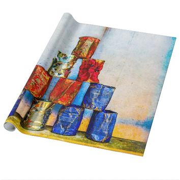 Soup Cans - After The Lunch Wrapping Paper