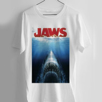 Jaws T-shirt Men, Women and Youth