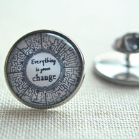 The Maze Runner Brooch Pin,Quote Pin, Everything is gonna change Picture pins, round brooch,round pin (PI003)