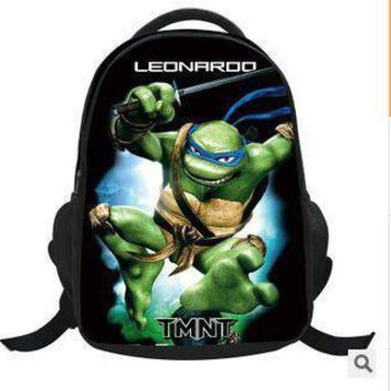 Teenage Mutant Ninja Turtles 3D Children School Bags For Boys Girls New 2015 Kids Backpack The Avengers First Mochila