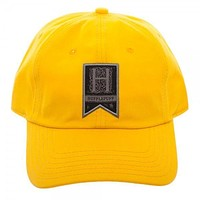 Hufflepuff Woven Label Dad Hat