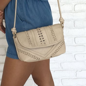 Rosemary Handbag In Cream