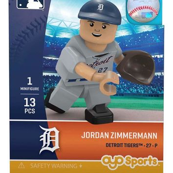 Detroit Tigers JORDAN ZIMMERMANN Limited Edition OYO Minifigure