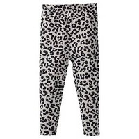 Gerber® Graduates® Toddler Girls' Leopard Leggings - Grey