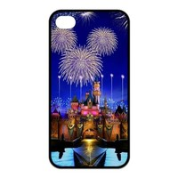 Mystic Zone Cartoon Disney Dream Castle Case for iPhone 4 4S TPU Back Cover Fits Cases KEK1534
