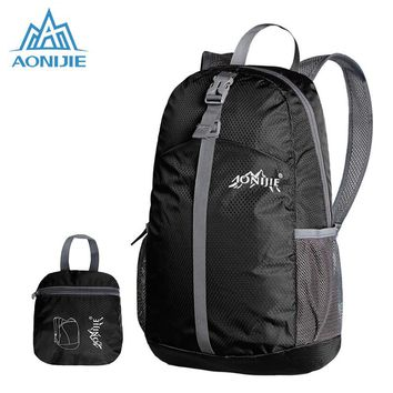 AONIJIE Foldable Outdoor Backpack Waterproof Women Men Sports Bag Travel Backpacks Lightweight Climbing Bag for Camping Hiking