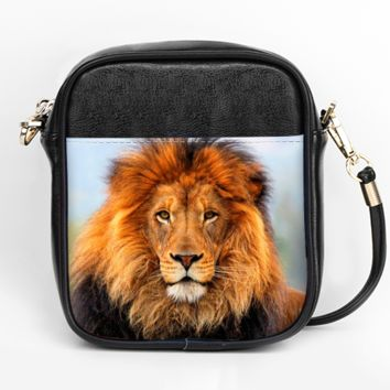 Majestic Lion Crossbody